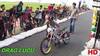 vuclip Drag Bike LUCU Asli Bikin NGAKAK Guling Guling