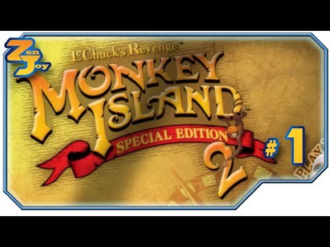 START SEQUEL WITH GRAVE ROBBING Monkey Island 2 #1 Special Edition All Full Walkthrough Achievements |