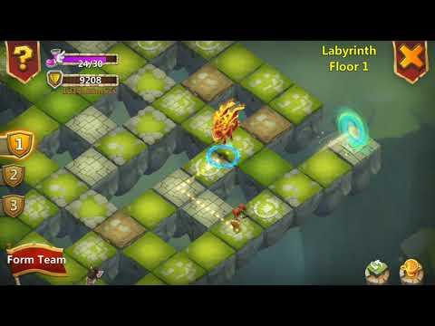 Castle Clash - How To Kill Labyrinth Jealous Goblin - Hindi