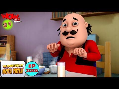 Motu Patlu dalam Bahasa | Manusia Kertas | Kartun animasi 3D untuk anak-anak