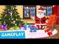 Xmas Tree Decor & Making Cookies! Sweet Baby Girl Christmas Fun 2 Gameplay   TutoTOONS Kids Games
