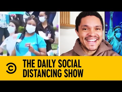 Jazz Musicians Serenade Health Care Workers In New Orleans   The Daily Show With Trevor Noah