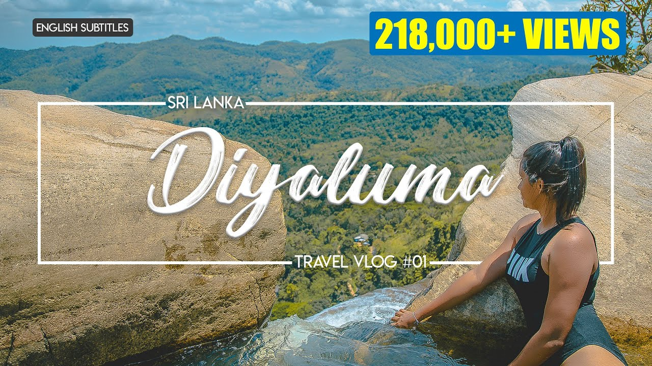 Diyaluma Waterfall | Sri Lanka | VLOG #1