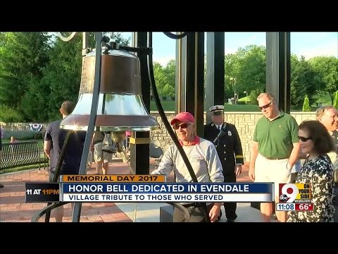 Honor bell dedicated in Evendale
