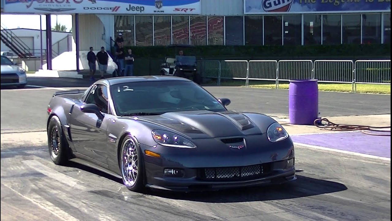 Tt Z06 Traps 166mph In The 1 4 Mile At Royal Purple