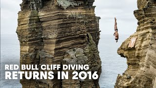 Red Bull Cliff Diving: The World's Oldest Extreme Sport Returns in 2016