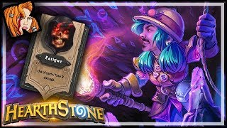 It's Turn 2 And My Deck Is GONE?! - Rastakhan's Rumble Hearthstone