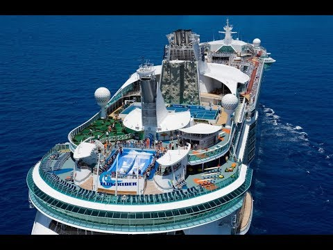 Top 10 Largest Cruise Ships In the World - YouTube