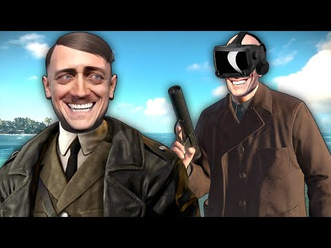 Sniper Elite VR but I'm a Hitman Who Can't Stop Trolling the Bad German Men |
