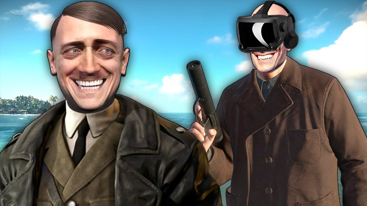 Sniper Elite VR but I'm a Hitman Who Can't Stop Trolling the Bad German Men