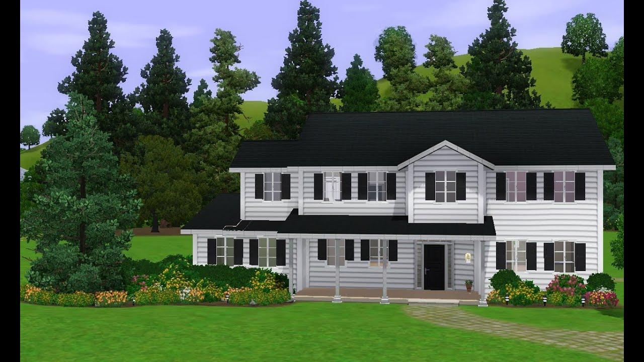 English Tudor Houses The Sims 3 Suburban House♡ Youtube