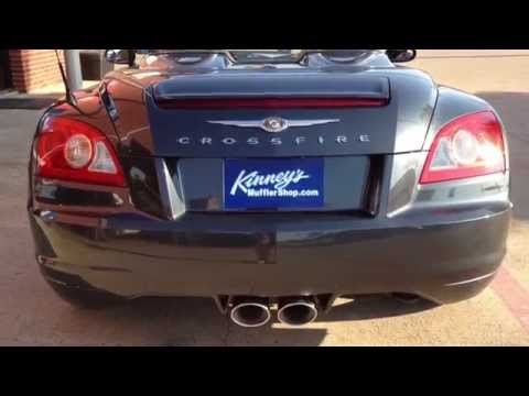2006 Chrysler Crossfire with Magnaflow kit (16633) installed by Kinney's