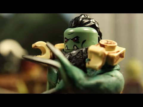 (LEGO Stop Motion) Warcraft: Lothar vs Blackhand - Scene Recreation