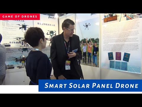 D2 - Smart drone with solar panel