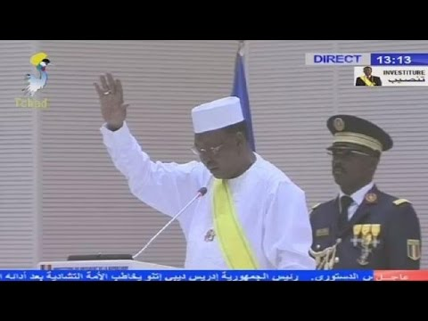 Chad's President sworn in for a fifth term