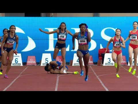 Women's 4x100m Relay - Monaco Diamond League 2017 [1080p]