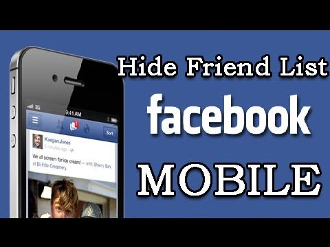 how to delete friends list on facebook 2017