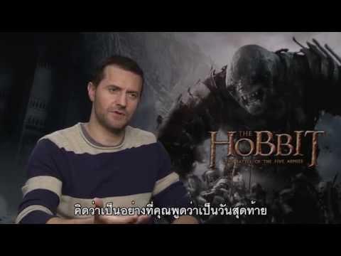 The Hobbit: The Battle of The Five Armies - Richard Armitage Online Interviews (ซับไทย)