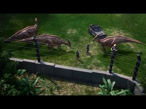 Jurassic World Evolution is shown in a new video