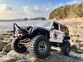 Axial SCX10 II Jeep Wrangler Rock Crawling #