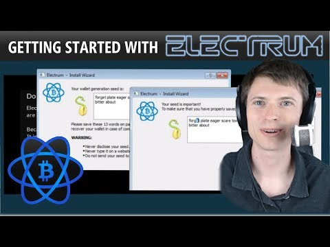 Getting Started with Electrum