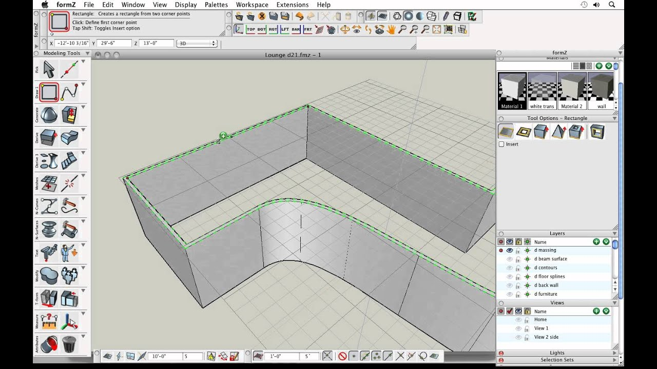 AutoDesSys | Discover formZ Part 1: parametric modeling in a