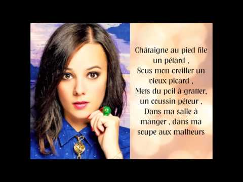 Alizée - Je veux bien paroles