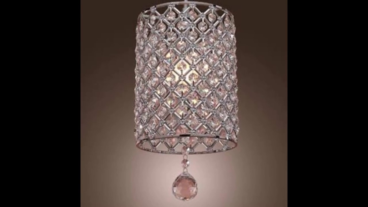 Chandeliers crystalic ceiling jhumar with lights