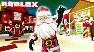 Ich MADE A CHRISTMAS VILLAGE | Bloxburg | Roblox