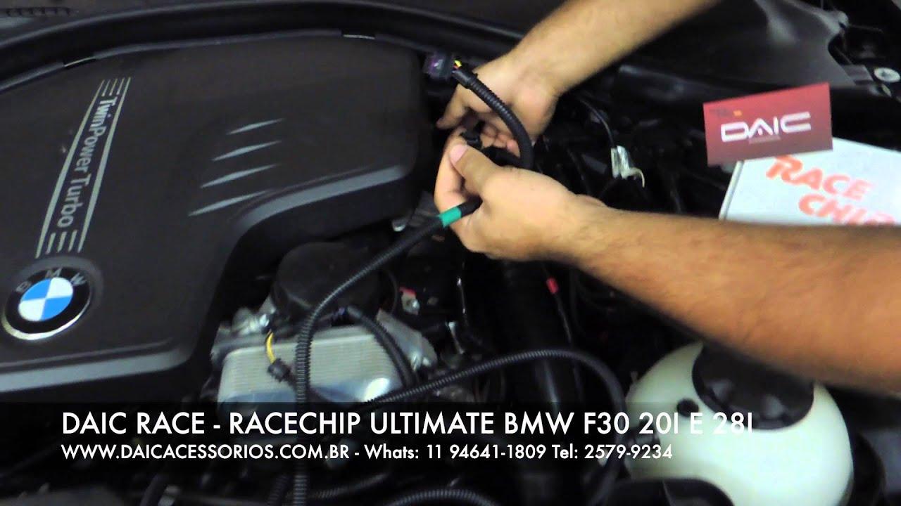 Daic Race Racechip Chiptuning Installation Video Bmw 320
