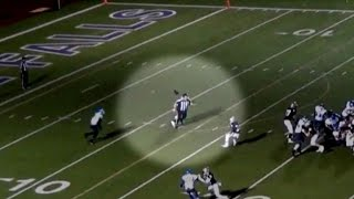 High school football players who tackled ref in hot wate