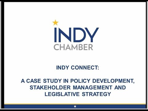 Indy Connect: A Case Study in Policy Development, Stakeholder Management, and Legislative Strategy