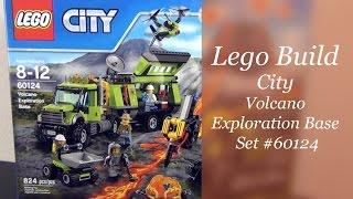 Let's Build - LEGO City Volcano Exploration Base Set #60124 - Part 1