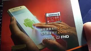 Карта памяти Samsung EVO Plus 95MB/s из Aliexpress