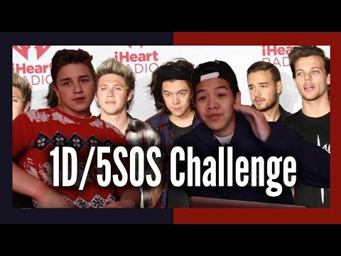 One Direction /5 Seconds Of Summer Song Bean Boozled Quiz Challenge