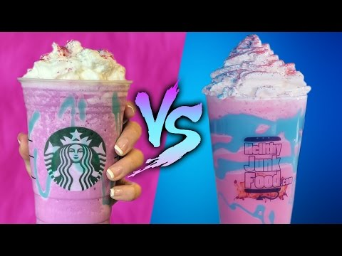 Thumbnail: UNICORN FRAPP - DIY VS BUY *DO NOT WATCH THE END*