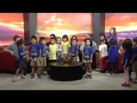 Waiokeola Pre-School visits Hawaii News Now Sunrise