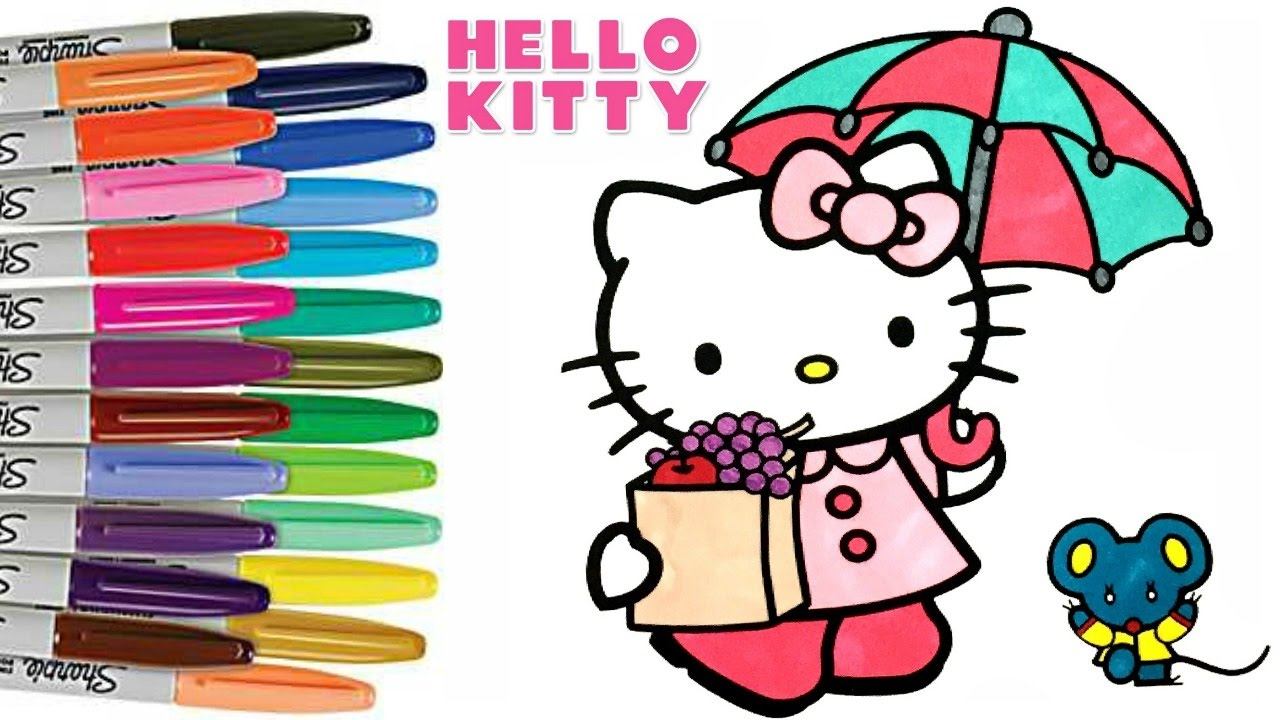 Hello Kitty Characters Coloring Pages - Coloring Home | 720x1280