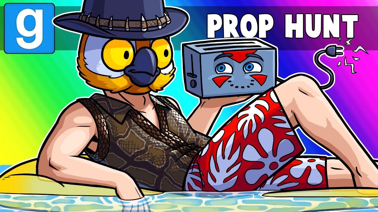 Gmod Prop Hunt Funny Moments - Spring Pool Safety!! (Prop Hunt)