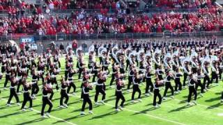 �������� ���� Ohio State University Marching Band Ramp Entry, Script Ohio & Pre-game OSU vs IU. 11 5 2011 ������
