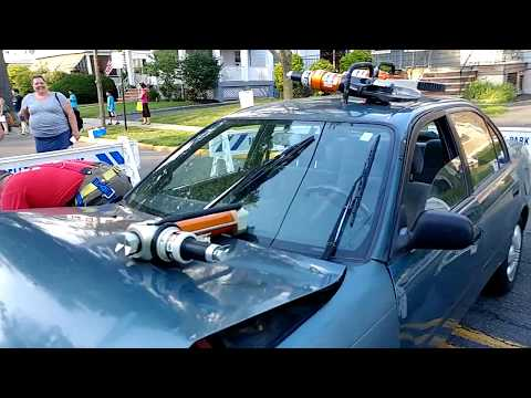 ROSELLE PARK NJ FIRE DEPARTMENT PLANS TO CUT UP CAR FOR AUDIENCE