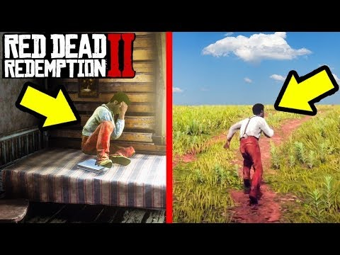 SECRET ENDING In Red Dead Redemption 2! Catfish Jackson Easter Egg In RDR2!