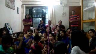JAI JAI RADHA RAMAN HARI BOL - Art Of Living Satsang Concluding Bhajan By Uncle D & His Little Stars