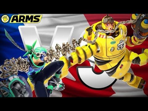 FRANCE VS CANADA (NINTENDO ARMS)