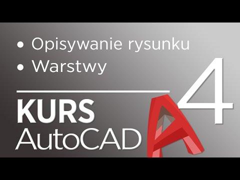 4. Kurs AutoCAD 2020 - Opisywanie rysunku oraz warstwy from YouTube · Duration:  31 minutes 11 seconds