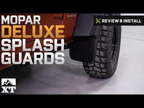 For Jeep Wrangler JL Rubicon Sahara Sport 18 Mud Flaps Splash Guards Front Rear