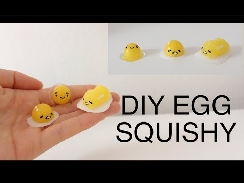 DIY Egg Squishies using Squishy Gel(Sophie and Toffee)