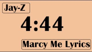 JAY-Z - Marcy Me (Lyrics)