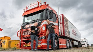 Big loads of onions with the amazing Scania R650 V8 of Joost Kleinjan!