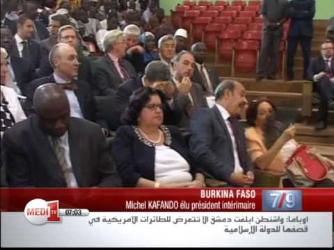 Burkina Faso: Michel Kafando élu président intérimaire
